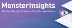 Preferred analytics plugin for WordPress, MonsterInsights analyzing Google Analytics